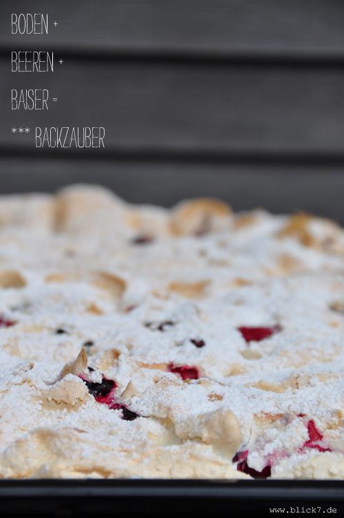 Himmlischer Beeren Baiser Blechkuchen Blick7