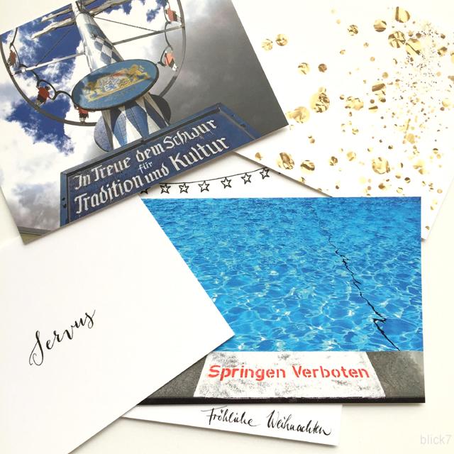 Postkarten mit eigenem Design