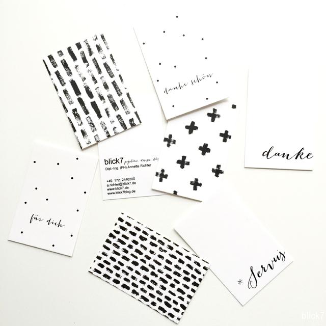 Visitenkarten selbst gestaltet