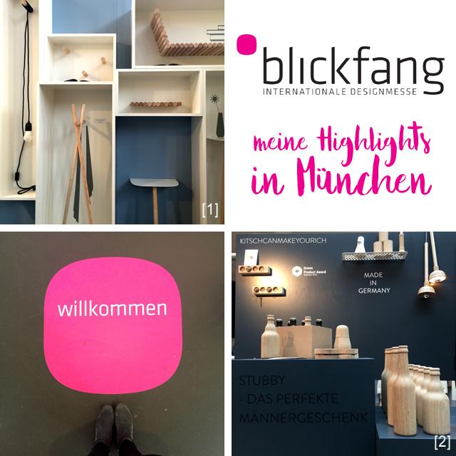 Designmesse blickfang München Postpalast Highlights