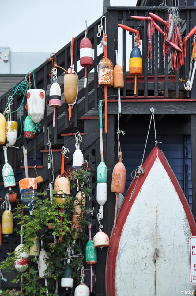 Bojen auf Cape Cod bei der besten Lobster Roll