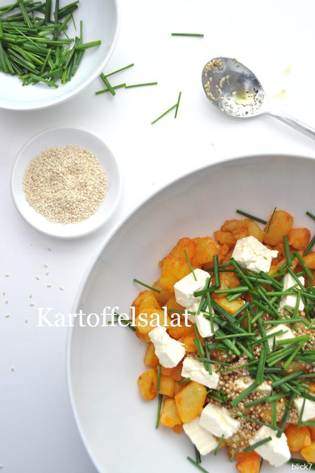 Kartoffelsalat zum Grillen