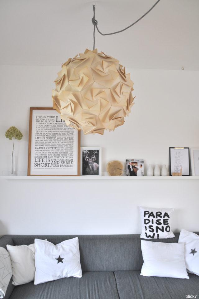 Wohnzimmer-Shelfie - Bilderleiste IKEA