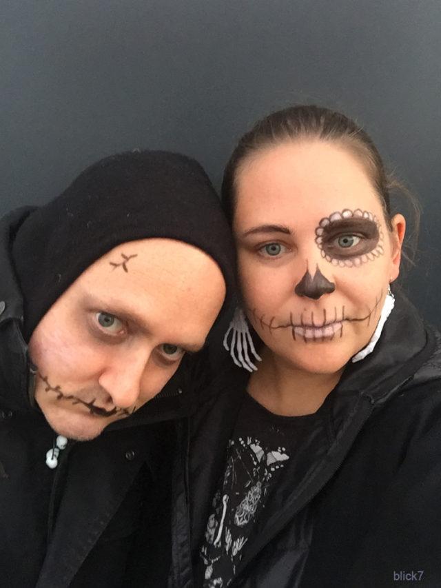 Halloween - selbst schminken