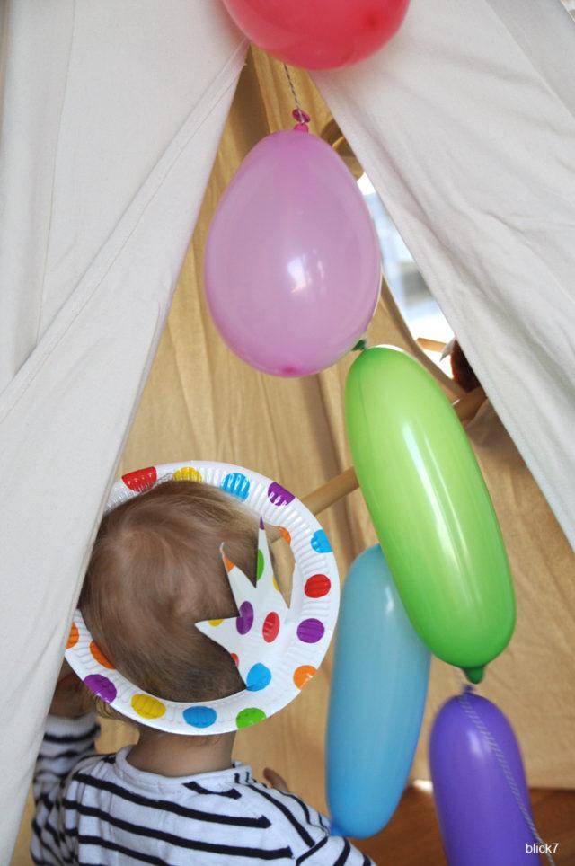 DIY Kindergeburtstag - Krone aus Papptellern basteln - Geburtstagskrone