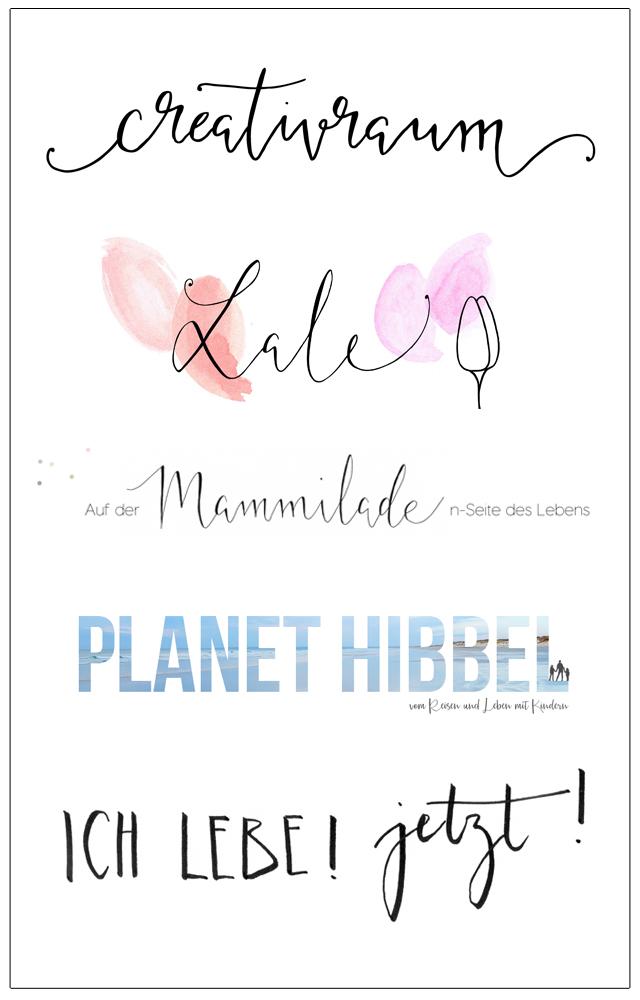 individuelle Shop- und Bloglogos von blick7