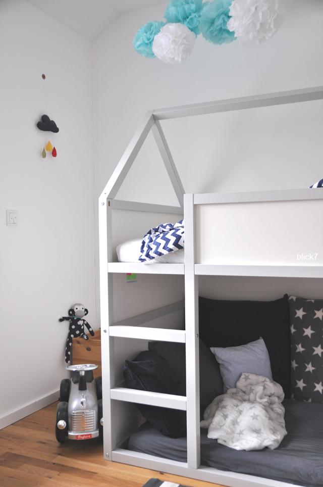 IKEA_Hack: Hausbett aus KURA Hochbett