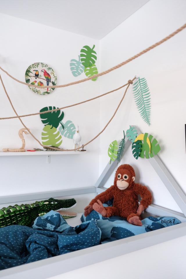 Ikea Hochbett Dschungel blick7