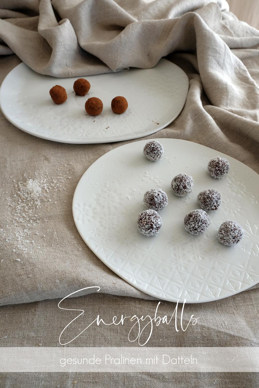energyballs | energiekugeln | gesunde pralinen mit datteln und nüssen