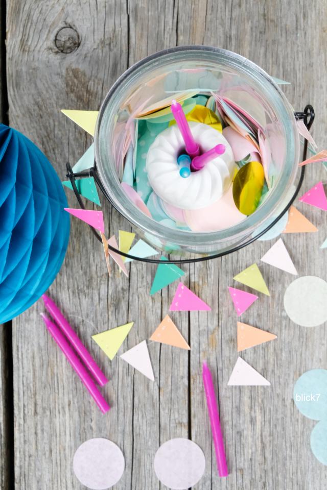 GGips-Guglhupf im Glas - Geburtstagsgeschenk