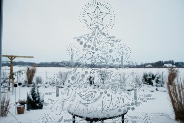 Fensterbild Weihnachten