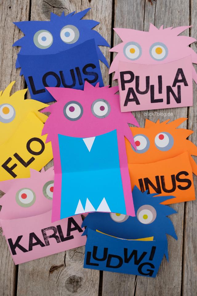 Kindergeburtstag Monsterparty Einladungen