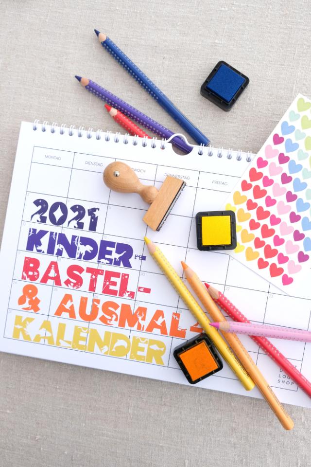 kinder diy und bastel kalender 2021 blick7