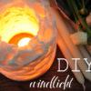 DIY Windlicht [aus Wachs und Eiswürfeln]