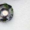 Windlicht aus Eis mit Beeren [DIY]