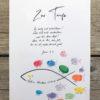 Ein Poster zur Taufe